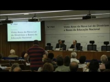 Embedded thumbnail for Vinte Anos da Nova Lei de Diretrizes e Bases da Educação Nacional - Palestra Sen. Cristovam Buarque