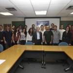 Nobel Prize Eric Maskin in meeting with FGV EPGE Students - 12/03/2013