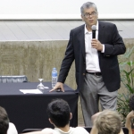 Palestra do Professor Rubens Penha Cysne no Colégio de São Bento - 08/06/2018