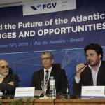 "EPGE e NPII Realizam a conferência ""O Brasil e o Futuro do Atlântico: Desafios e Oportunidades"" - 16/11/2015"