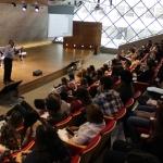 Diretor da EPGE faz palestra para alunos do ensino médio de vários colégios do Rio - 17/08/2019