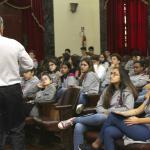 Lecture by Rubens Penha Cysne at Liceu Franco-Brasileiro College - 08/29/2019