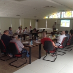 Diretor da EPGE faz palestra para Direção da Comunidade Jesuíta na América Latina - 29/09/2015