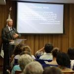 Prêmio Nobel Robert Engle faz palestra na EPGE FGV sobre Crises Financeiras - 31/08/2011