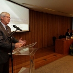 Nobel Prize Robert Engle delivers lecture at the FGV EPGE about financial crises - 31/08/2011