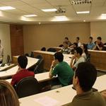 Evento de boas-vindas aos alunos do Doutorado e Mestrado - 06/01/2011
