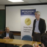 Prêmio Nobel Eric Maskin em mesa redonda com alunos da FGV EPGE - 12/03/2013