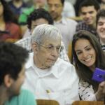 Nobel Prize John Nash at EPGE - 01/08/2014