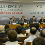 EPGE e Vale realizam 3rd. Global Conference Business Cycles - 09-10/05/2013