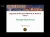 Embedded thumbnail for II Seminário Internacional de Política Fiscal FMI/FGV - Transparência Fiscal