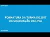 Embedded thumbnail for Formatura de Graduação em Ciências Econômicas da FGV EPGE