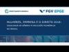 Embedded thumbnail for Seminário EPGE/Banco Mundial sobre Igualdade de Gênero (Painel 1)